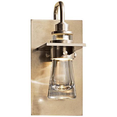 forge erlenmeyer 9 1 2 h 1 light wall sconce 8t884 lamps plus. Black Bedroom Furniture Sets. Home Design Ideas