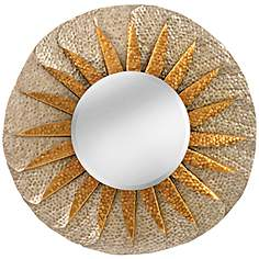 Sunburst Wall Mirror sunburst mirrors - wall mirror designs | lamps plus