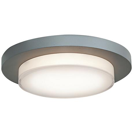 "Link 7 1/2""W Satin Nickel Ceiling or Wall Round LED Light"