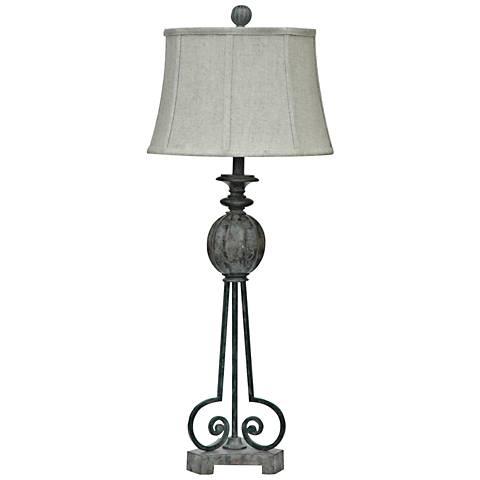Crestview Collection Strive Antique Faux Stone Table Lamp
