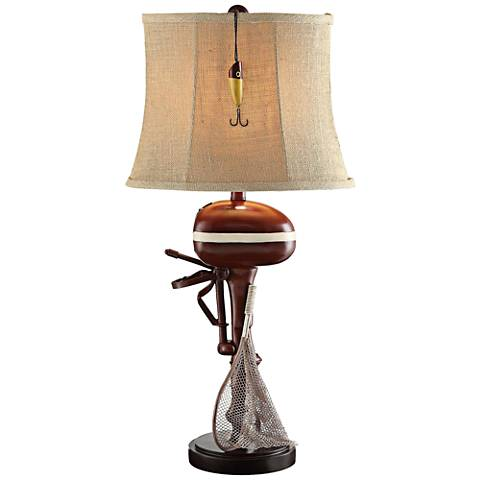 Crestview Collection Motor Boating Sculptural Table Lamp
