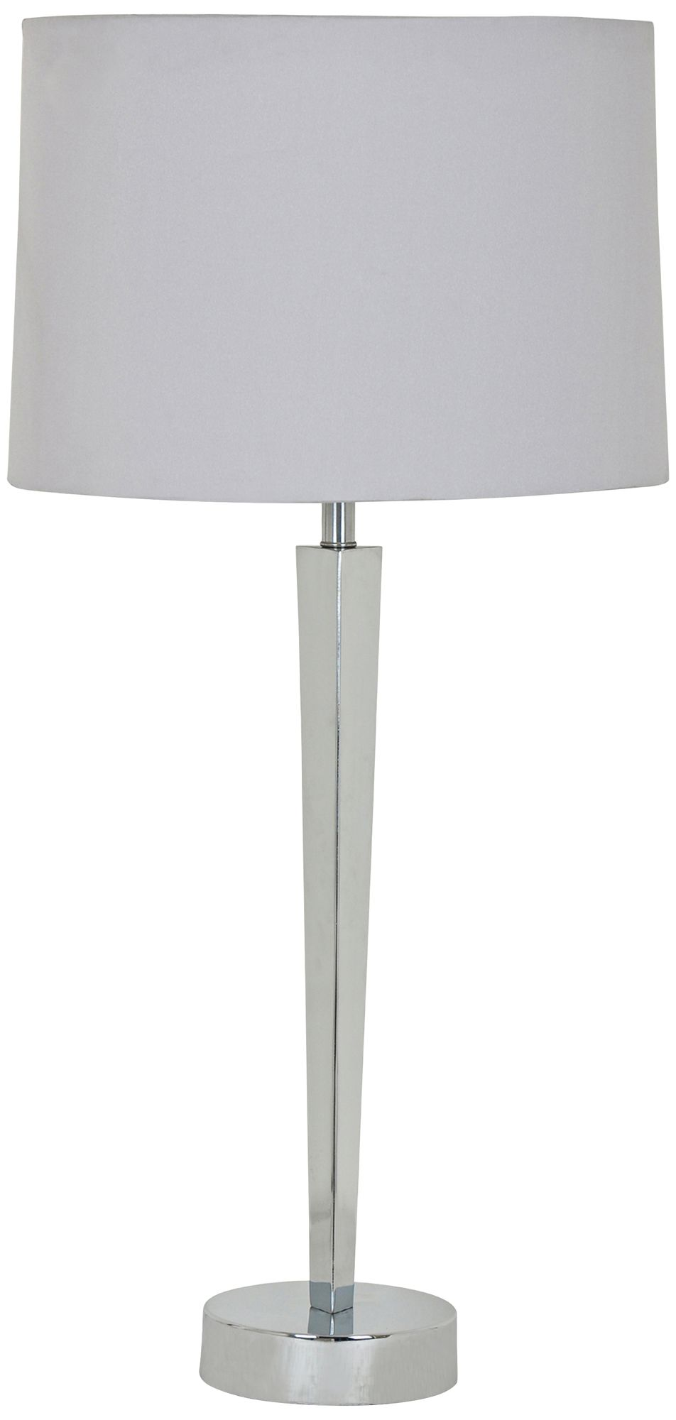 Awesome Crestview Collection Metro Polished Nickel Metal Table Lamp