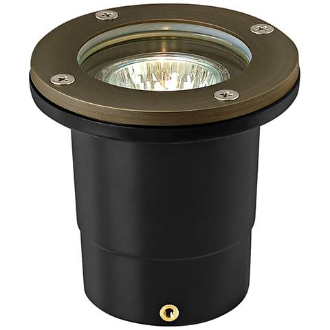 Hinkley Hardy Island 3000K LED Wide Flood Flat Well Light