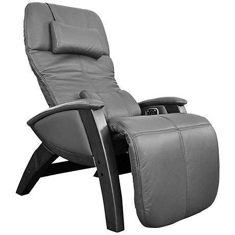 Svago Lusso Black and Black Zero Gravity Massage Chair