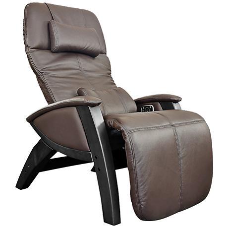 Svago Lusso Chocolate and Black Zero Gravity Massage Chair