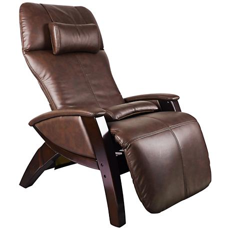 Svago Lusso Chocolate and Walnut Zero Gravity Massage Chair