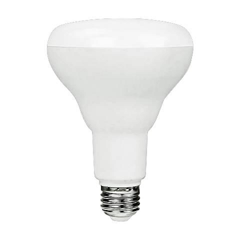 Frosted 9 Watt Medium Base BR30 LED Light Bulb