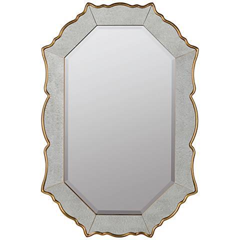 """Bianca Gold 24""""x36"""" Decorative Wall Mirror"""