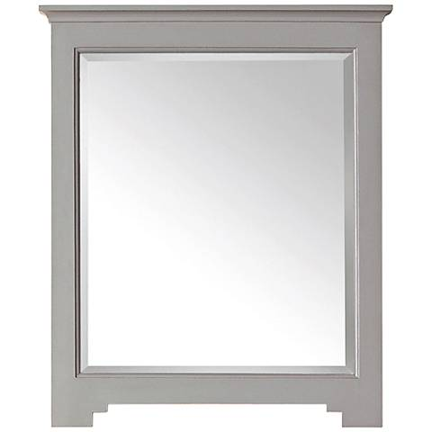 "Avanity Newport French Gray 27""x32"" Vanity Mirror"