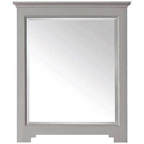 "Avanity Newport French Gray 27""x32"" Vanity Mirror"