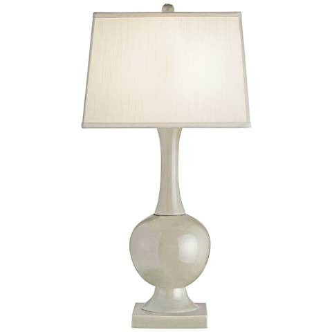 Currey and Company Downton Pale Celadon Crackle Table Lamp
