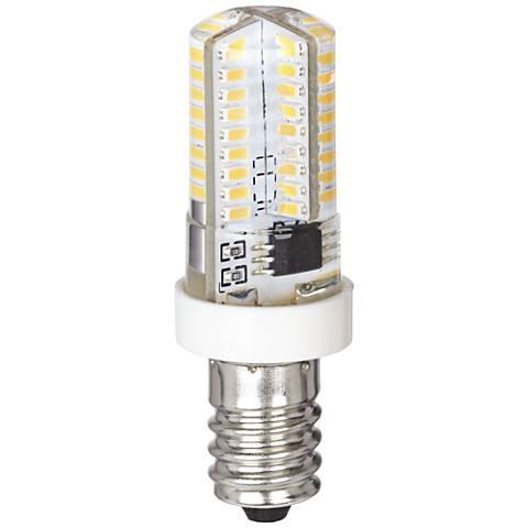 tubular style 4 watt e12 minican led bulb 8w593 lamps. Black Bedroom Furniture Sets. Home Design Ideas