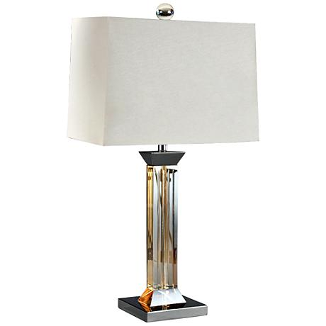 crystal contemporary table lamps lamps plus. Black Bedroom Furniture Sets. Home Design Ideas