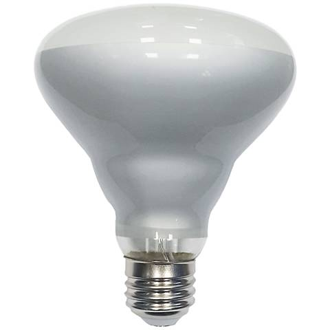 60W Equivalent Tesler Frosted 7W LED Dimmable Standard BR30