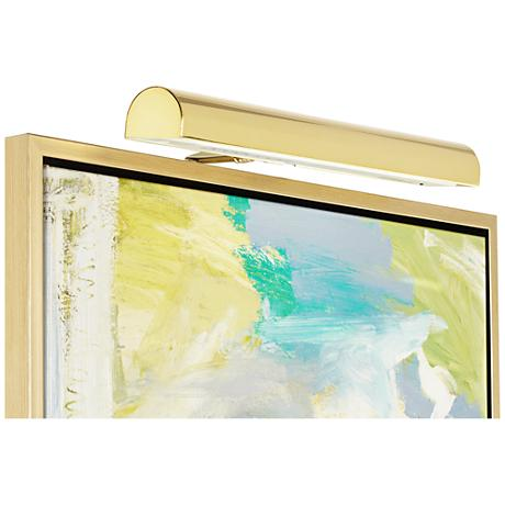 Concept Polished Brass Cordless LED Picture Light
