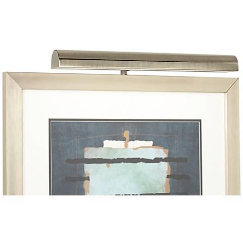 "Concept Antique Brass 18""-W Cordless LED Picture Light"