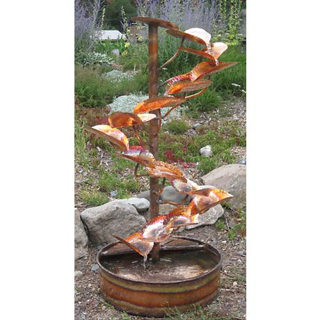 The Tree Of Life 60 Quot High Indoor Outdoor Copper Fountain