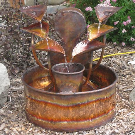 """The Water Goddess 25""""H Low-Splash Indoor-Outdoor Fountain"""