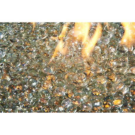 Clear Diamondesque Fire Gems Fire Pit Media 5 Lb. Pack