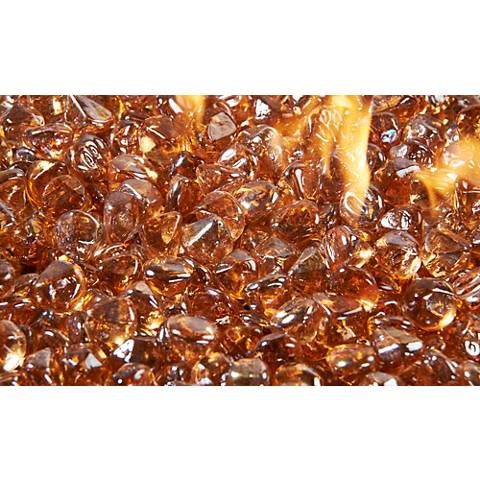Copper Large Crystal Fire Gems Fire Pit Media 5 Lb. Pack