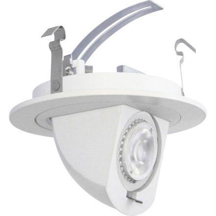 4  Pivot Dropdown Spot 7 Watt LED Retrofit  sc 1 st  L&s Plus & Led Tesler Recessed Lighting | Lamps Plus azcodes.com