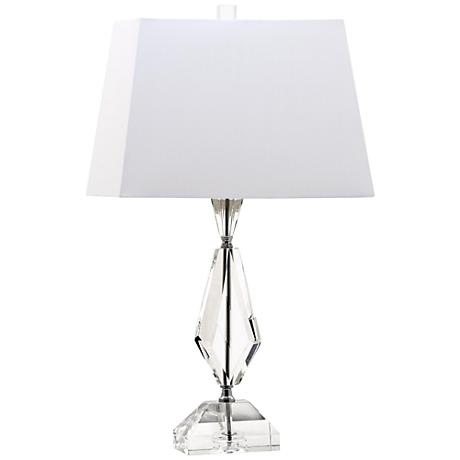 duchess faceted diamond crystal table lamp 8x236. Black Bedroom Furniture Sets. Home Design Ideas