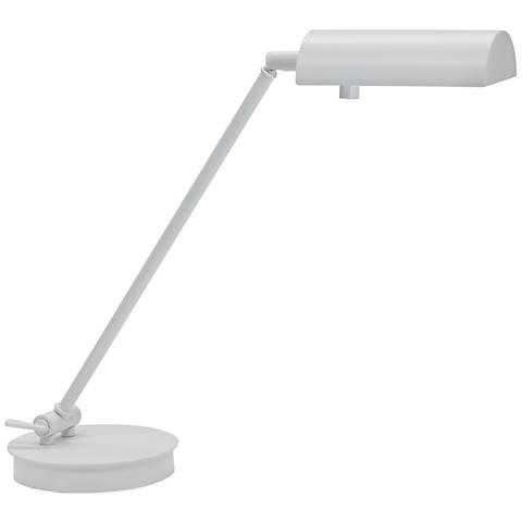 House of Troy Generation White Pharmacy Desk Lamp