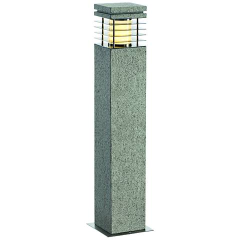 "Arrock Granite 27 1/2"" High Salt and Pepper Landscape Light"