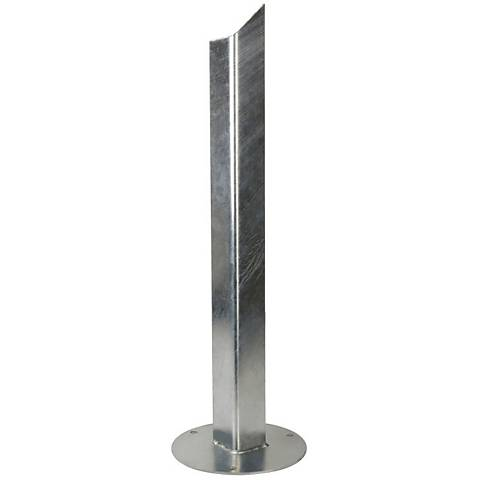 Galvanized Steel Outdoor Round Earth Spike for Rusty