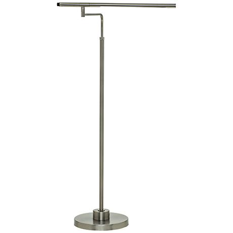 House of Troy Slim Line LED Satin Nickel Task Floor Lamp
