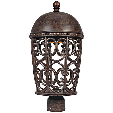 "Amherst 20 1/4"" High Burnt Umber Outdoor Post Light"