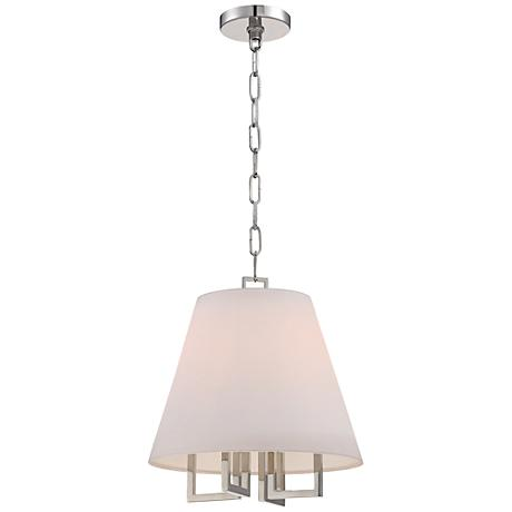 """Westwood Collection 13 1/2"""" Wide Pendant Shade Chandelier"""