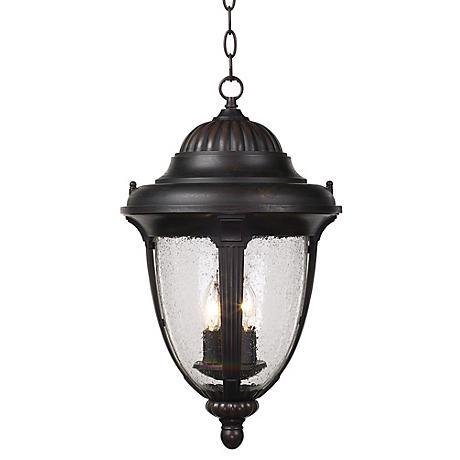"Casa Sierra™ 20 1/2"" High Outdoor Hanging Lantern"