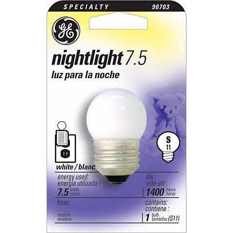 GE 7.5  Watt Night Light Bulb