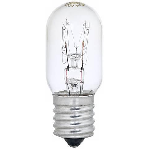 ge 15 watt appliance light bulb 90704 lamps plus. Black Bedroom Furniture Sets. Home Design Ideas