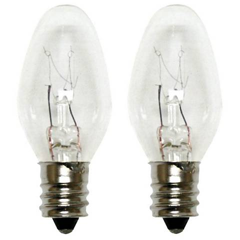 GE 4 Watt Clear Night Light Bulbs