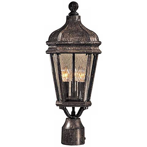 "Harrison Collection 20"" High Post Mount Outdoor Light"
