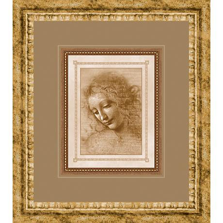 "Classical Sketches Study I 17"" High Wall Art"