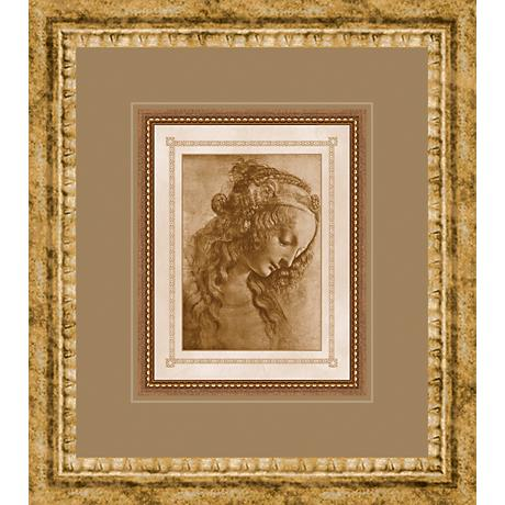 "Classical Sketches Study III 17"" High Wall Art"