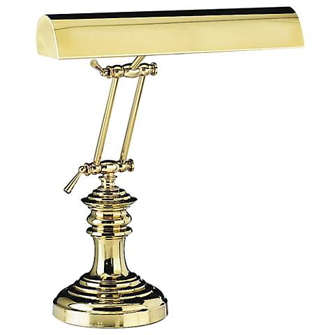 Round Base Solid Brass Piano Lamp