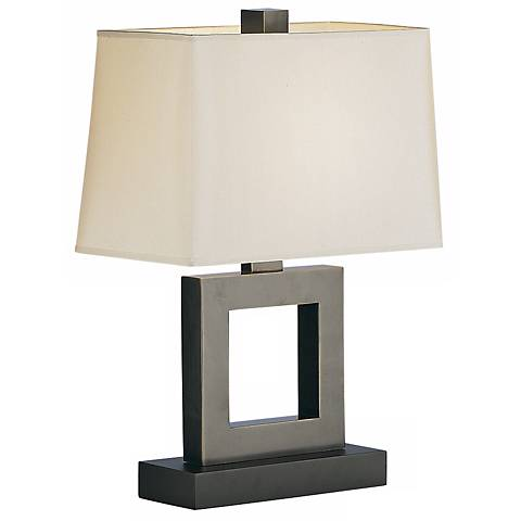 "Duncan 20 3/4""H Bronze Accent Table Lamp"