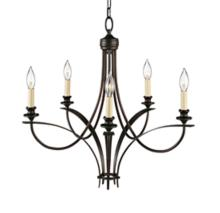 """Feiss Boulevard Collection 25 1/2"""" Wide Chandelier"""