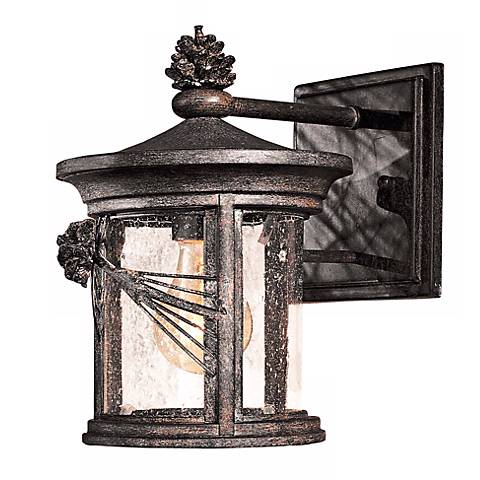 "Abbey Lane Collection 10"" High Outdoor Wall Light"