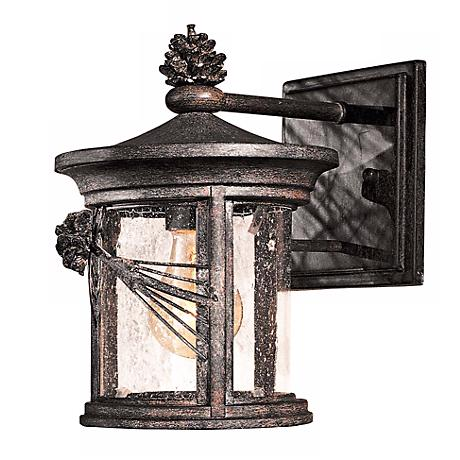 """Abbey Lane Collection 10"""" High Outdoor Wall Light"""