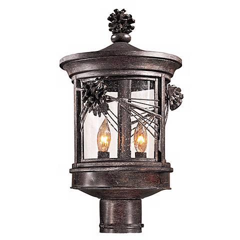 "Abbey Lane Collection 16 1/4"" High Outdoor Post Light"