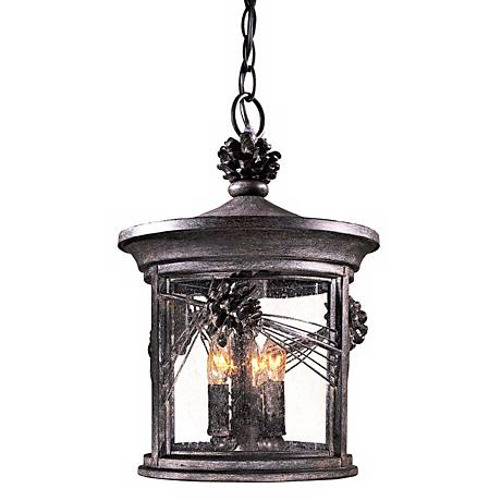 """Abbey Lane Collection 16 1/2"""" High Outdoor Hanging Light"""
