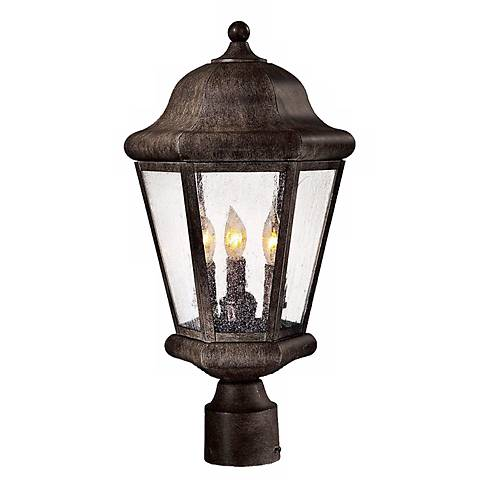 "Taylor Court Collection 19 1/4"" High Post Mount Lantern"