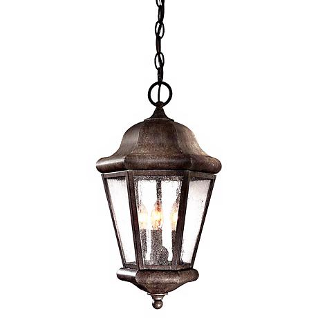 """Taylor Court Collection 18 3/4"""" High Outdoor Hanging Lantern"""