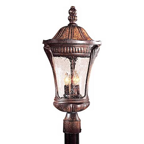 """Kent Place Collection 22 1/4"""" High Post Mount Lantern"""