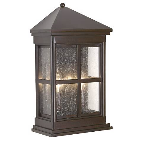 "Berkeley Collection 17 1/2"" High Outdoor Wall Pocket Light"